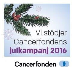 We support the Swedish Cancer Society!